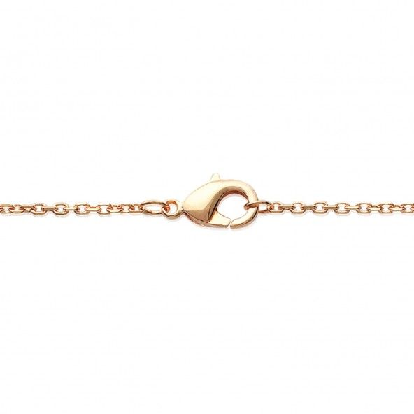 Gold Plated Zirconium MJ Bracelet