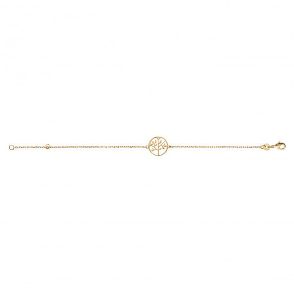 Gold Plated Tree of Life Bracelet