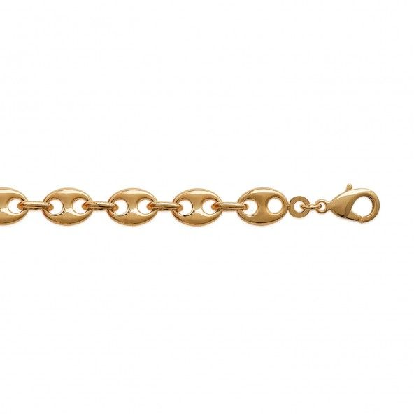 Chain Gold Plated Coffee Bean