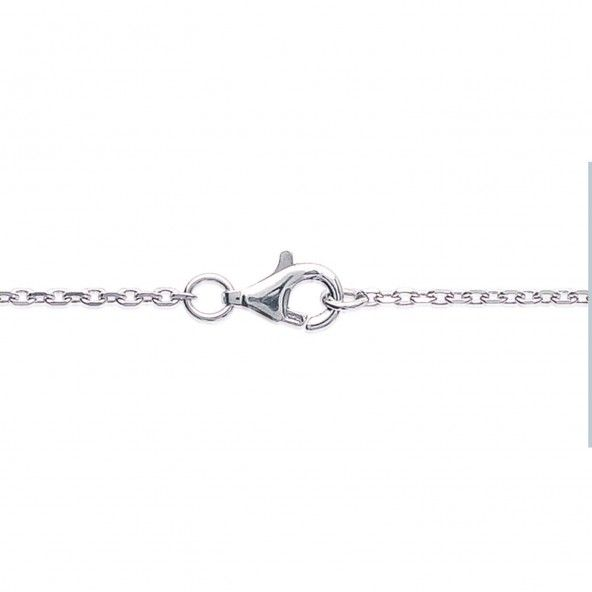MJ Necklace Sterling Silver 925/1000 Rhodhium