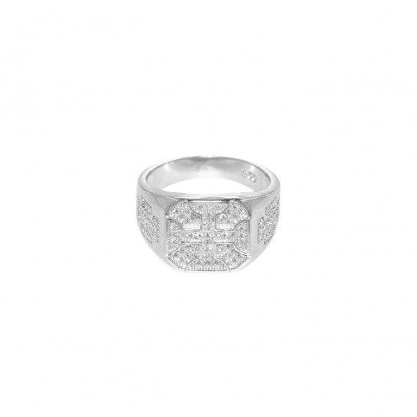 MJ Zirconium Sterling Silver 925/1000 Ring
