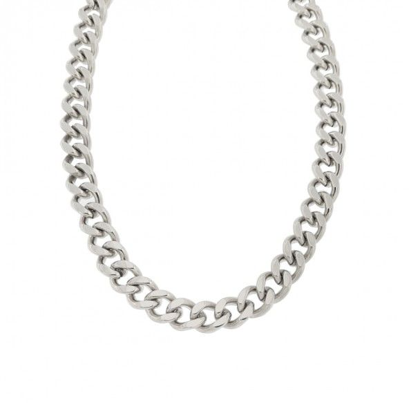 MJ Stainless Steel Chain Necklace