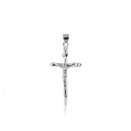 Pendentif Croix Jésus Christ en Agent 925/1000