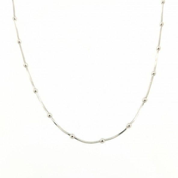 Necklace with balls Silver 925/1000