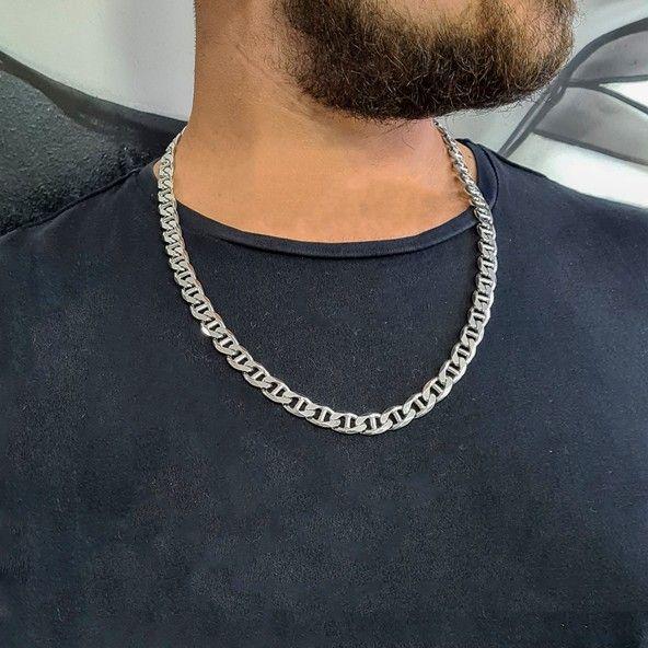 925/1000 1 cm Silver Marine Chain