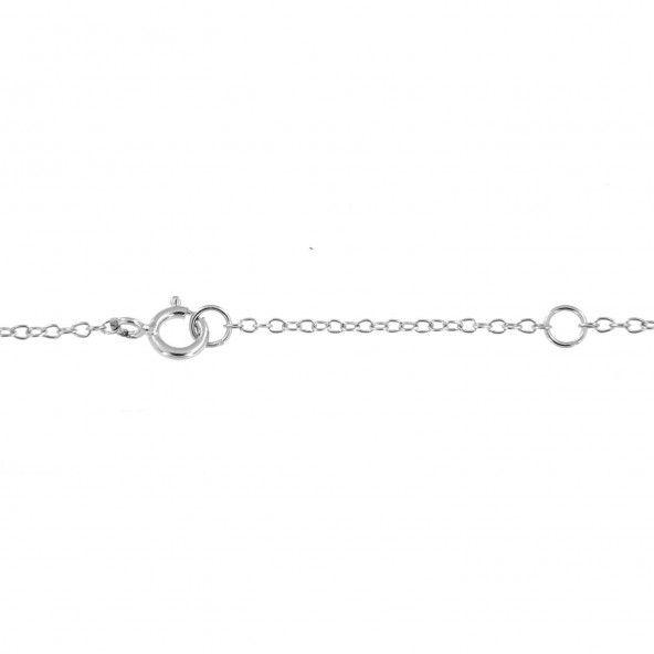 Colar Infinity Extensível 40 + 5 cm com Zircónia Prata 925/1000