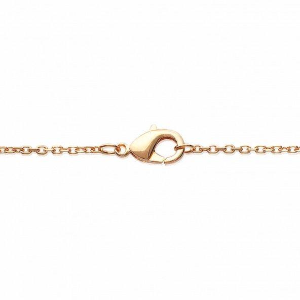 Collier Arbre de vie Ajustable 40+5 cm Zircon Plaqué Or