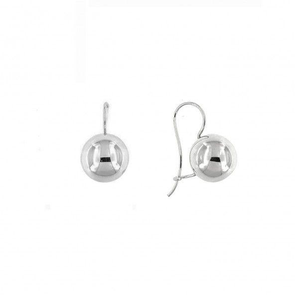 925/1000 Silver Balls Earrings