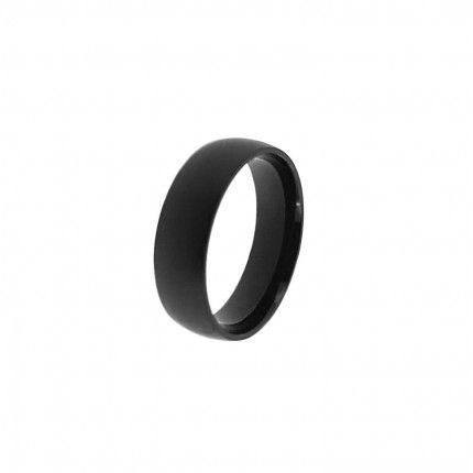 Alliance Acier Lisse Noir 7 mm