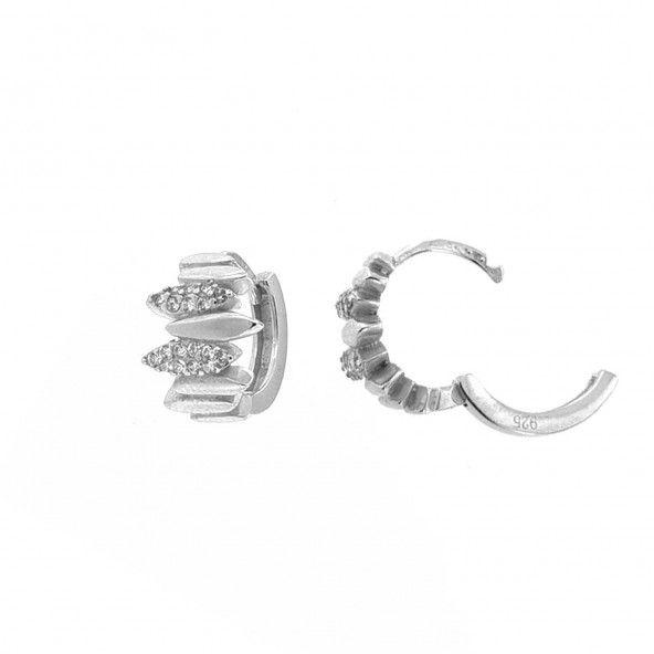 Créoles 1,6 cm Argent 925/1000