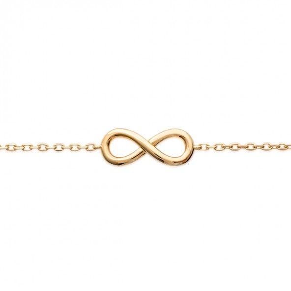 Bracelet extensible Symbole de l'infinie 16/18 cm