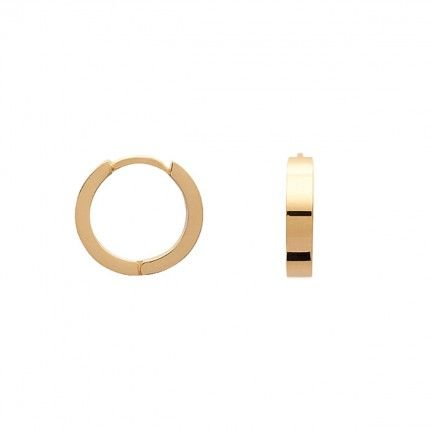 Gold Plated Hoops 16mm/4mm.