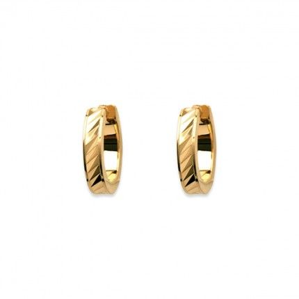 Gold Plated Hoops 15mm/3mm.