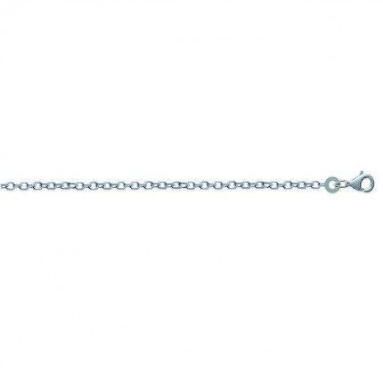 Fio de Prata 925/1000 malha Forçat60cm.