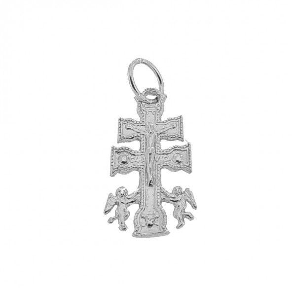 Pendentif croix de caravaca Argent 925/1000  21mm/12mm