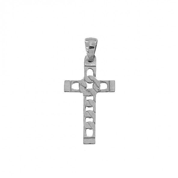 Pendentif Croix sans Christ Argent 925/1000 31mm/17mm