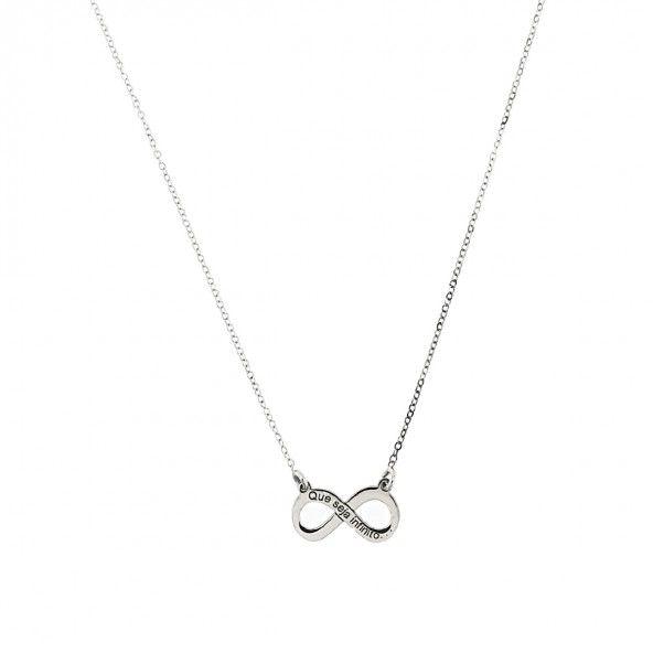 Colier Infinity Argent 925/1000 40cm-45cm