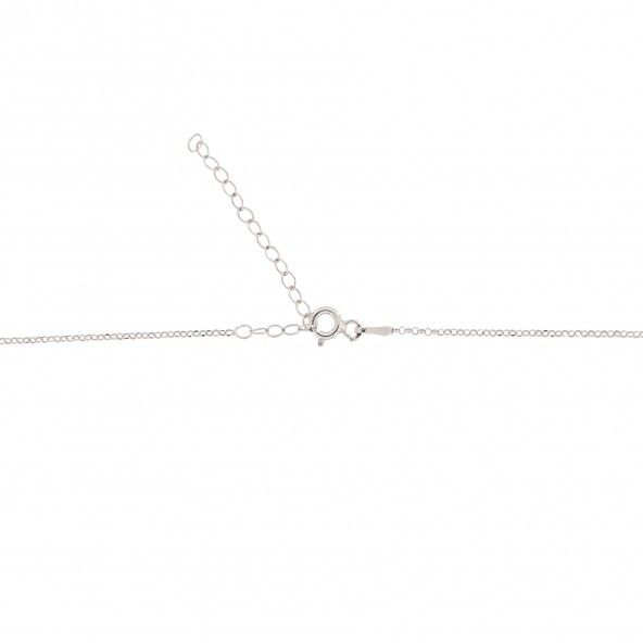 Colier Deux Coeur Argent 925/1000 40cm-45cm