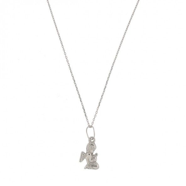 925/1000 silver Necklace With Angel 42cm+3cm.