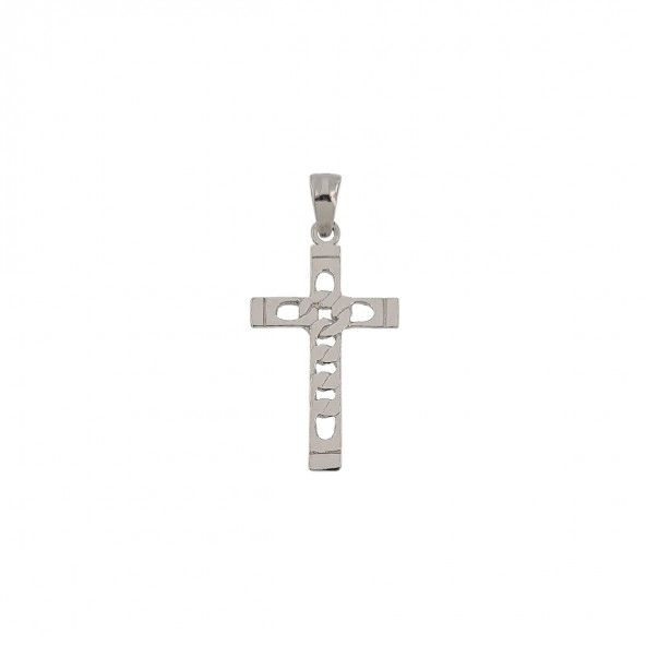 925/1000 Silver Pendant with Christ 35mm.