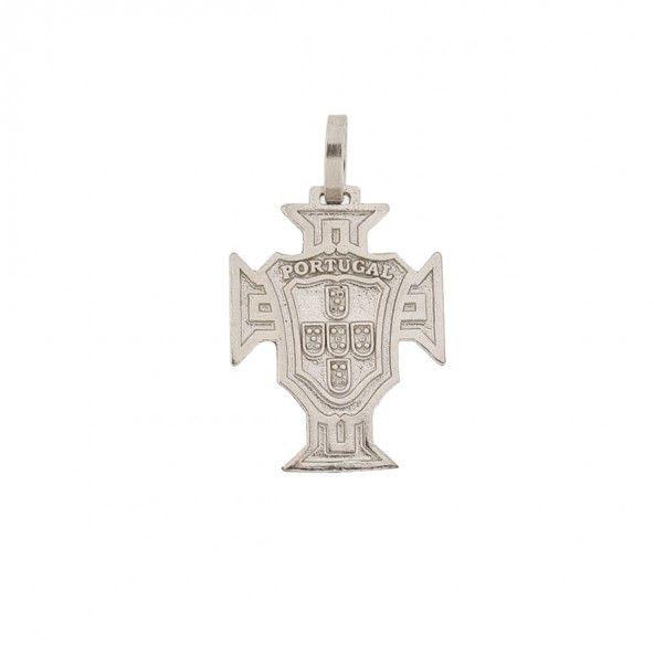 Medalha Prata 925/1000 Cruz de Portugal 22mm.