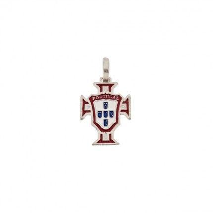 Medalha Prata 925/1000 Cruz de Portugal 17mm.