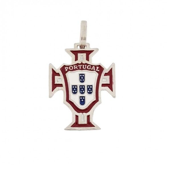 925/1000 Silver Pendent Cross of Portugal 20mm.