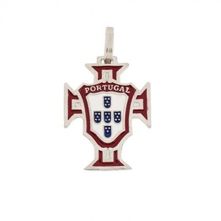 Medalha Prata 925/1000 Cruz de Portugal 20mm.