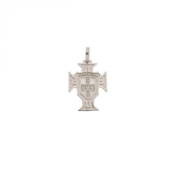 925/1000 Silver Pendent Cross of Portugal 17mm.