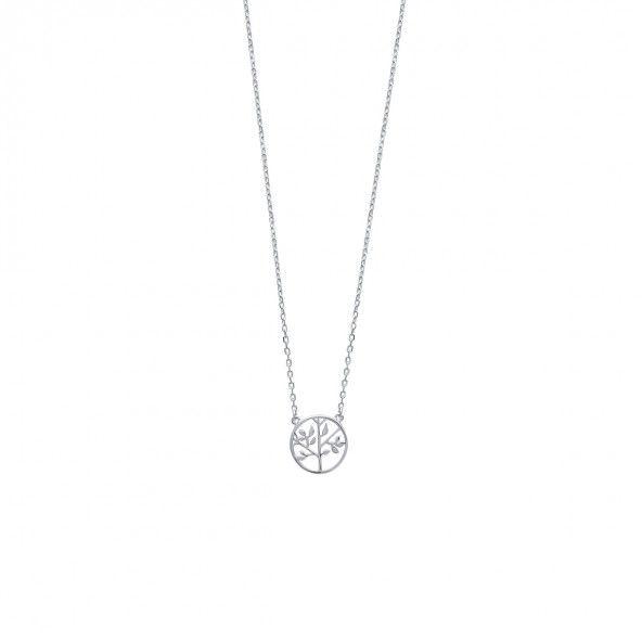 Collier Arbre de vie Argent 925/1000 45cm.