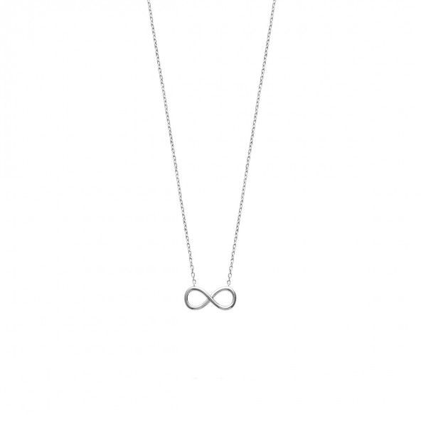 Colar Infinito Prata 925/1000 45cm.