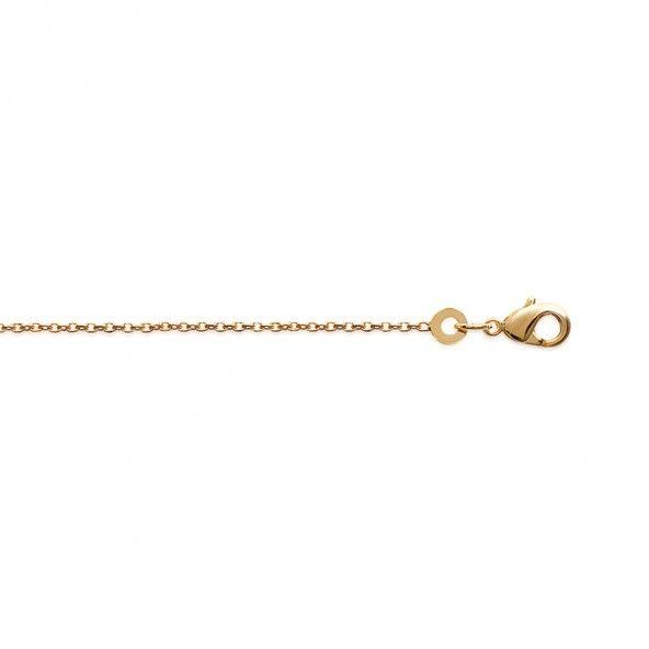 Gold Plated Forçat Mesh Necklace 45cm.