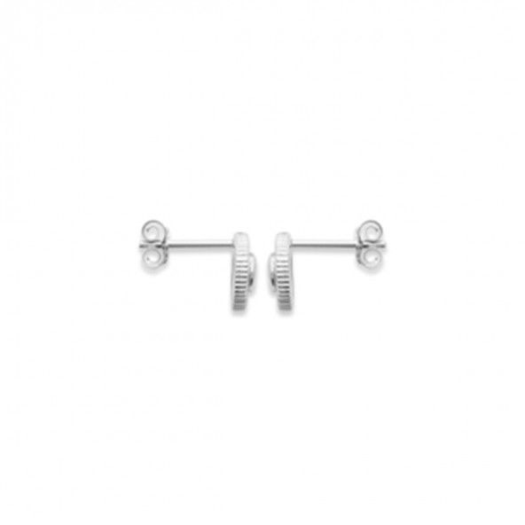925/1000 Silver Round Earring 8mm.
