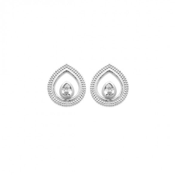 925/1000 Silver Drop Earring 12mm.