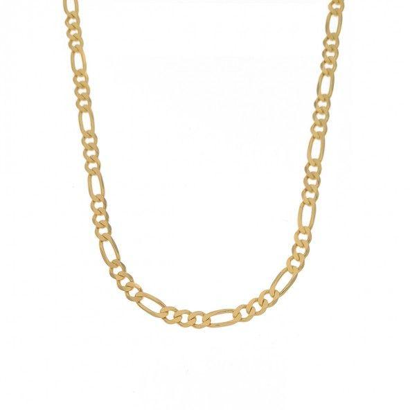 Fio Figaro 3+1 Ouro 750/1000 60cm.