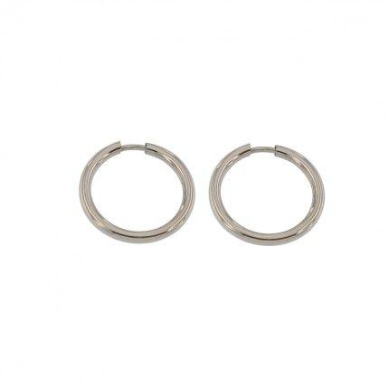 925/1000 Silver Hoops 19mm.