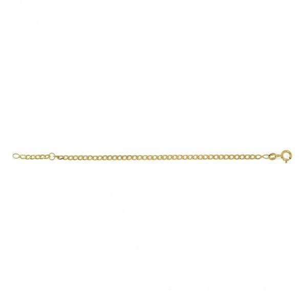 375/1000 Gold  Bracelet.