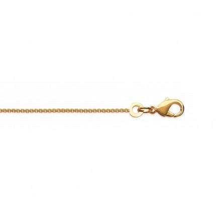 Gold Plated Necklace Venetian Mesh