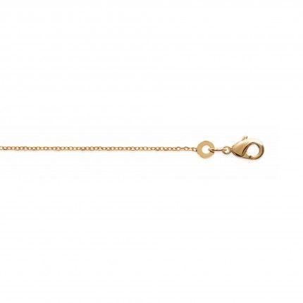 Gold Plated Necklace Forçat Mesh